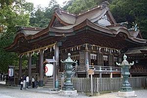 Konpira-Schrein auf Shikoku